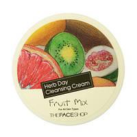 The Face Shop Herb Day Cleansing Cream Fruit Mix Очищающий крем с фруктовыми экстрактами