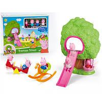 Игровой набор Свинка Пеппа Домик на дереве и качели/Peppa Pig