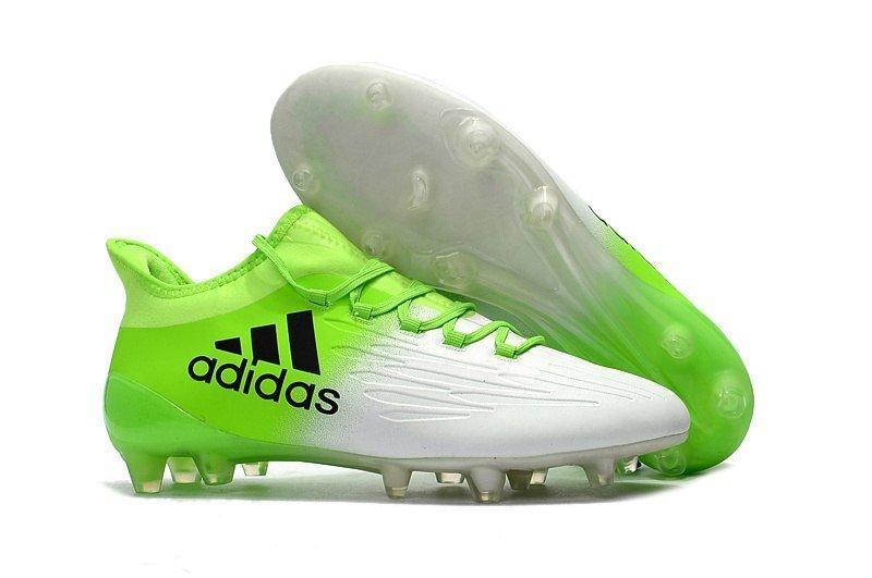 Мужские бутсы Adidas X 16.1 FG white-green