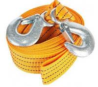 Трос буксировочный 4,5т 5м TR-705 Carlife крюки/ сумка