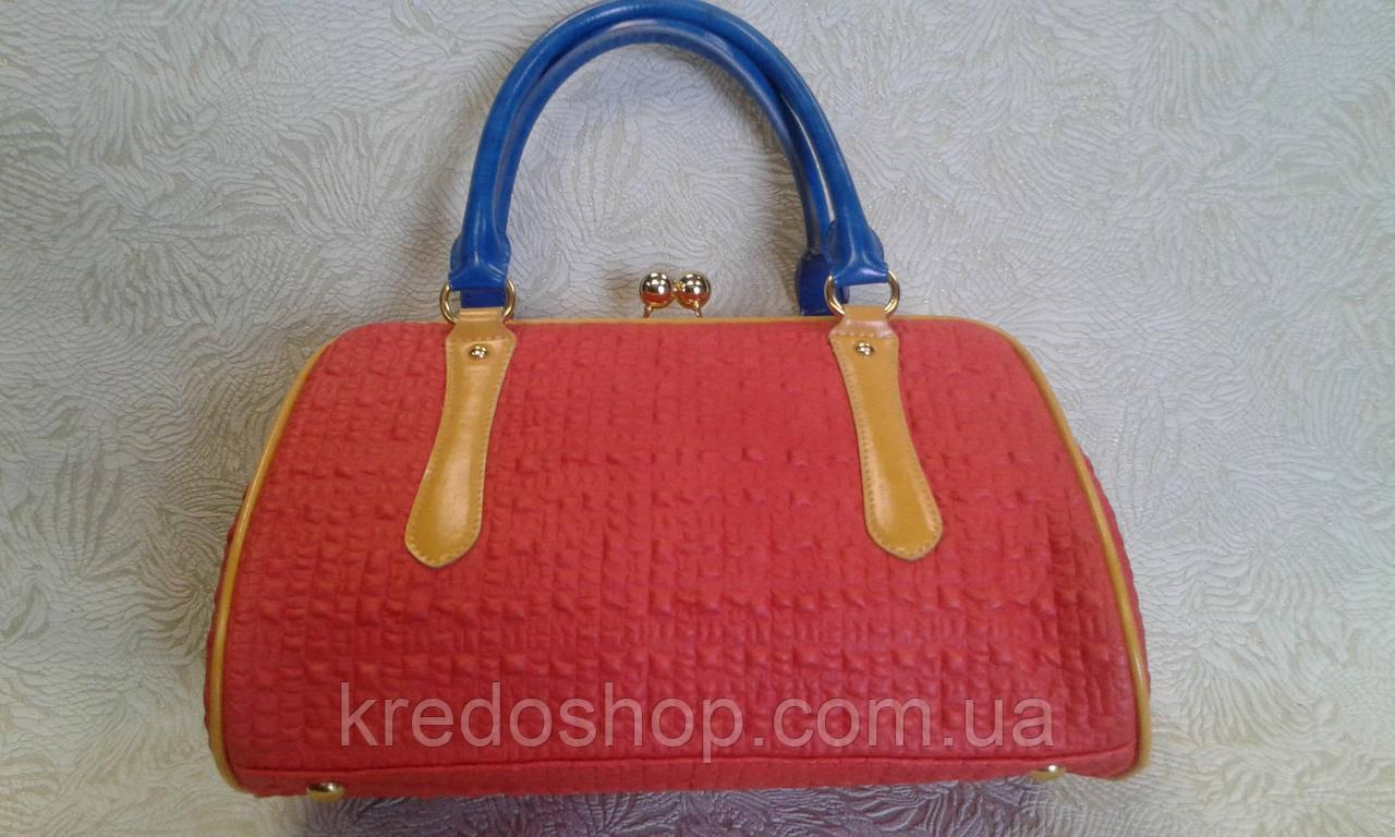 5d95152dfa90 Сумка женская ридикюль кораллового цвета.(Турция) - Интернет-магазин сумок  и аксессуаров