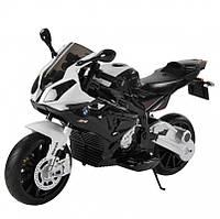 Детский мотоцикл BMW JT 528 E-2: 12V, 90W, EVA, 3-7 км/ч-Черный-купить оптом, фото 1