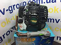 Бензокоса мотокоса Кедр БГ 5200  (3 ножа/2 катушки)