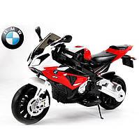 Детский мотоцикл BMW JT 528 E-3: 12V, 90W, EVA, 3-7 км/ч-Красный-купить оптом, фото 1