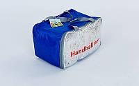 Сетка для гандбола или минифутбола нейлон 2 мм (комплект 2шт), размер 3*2*1 м