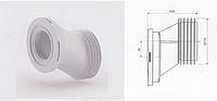 Эксцентрик фановый 110 мм смещение 40 мм