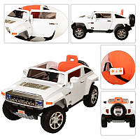 Машина M 2798EBR-1 (1шт) р/у(2,4G),2мотора35W,аккум12V7AH,колеса EVA,MP3,амортиз,белый