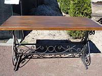 Стол садовый кованый (160х70 см), фото 1