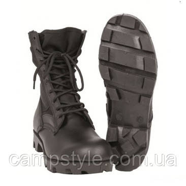 Армейские ботинки Us Black Panama Jangle Mil-Tec