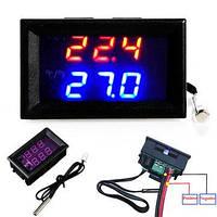 Цифровой термостат контроль температуры переключатель DC12V 50-110 ℃