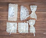 Свадебный набор для венчания айвори