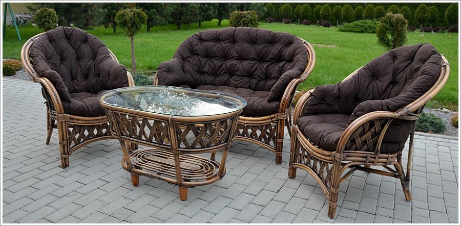 Комплект садових меблів з ротанга Casablanka