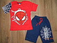 Летний костюм для мальчиков до 8 лет Человек Паук