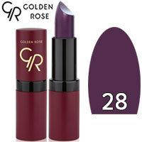 Губная помада матовая Golden Rose Velvet Matte Lipstick Тон 28 Amethyst