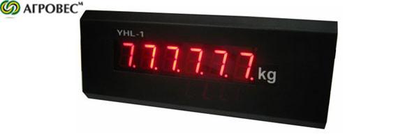 Дублирующее Выносное табло для дублирования показаний веса