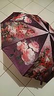 Зонт Цветы полуавтомат женский