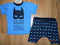 Костюмчик Бэтмен для мальчика на рост 92 см, 98 см, 104 см, 110 см