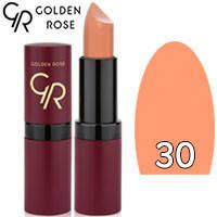 Губная помада матовая Golden Rose Velvet Matte Lipstick Тон 30 Pastel beige
