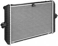 Радиатор охлаждения ГАЗ 3302(до 1999г., с ушами) двухрядный паяный