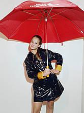 Зонт-трость с деревянной ручкой (большой)