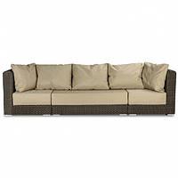 Набор сидушек и подушек для для четырехместного комплект мебели Kombo