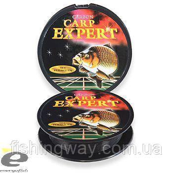 Волосінь CARP EXPERT 0,30 mm 300m сarbon