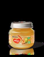 Дитяче пюре фруктове «Яблоко абрикос» Milupa 100г НОВИНКА!!!