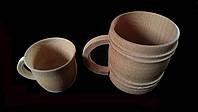 Чашка(кружка чайная )маленькая деревянная  оптом