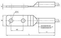Зажим аппаратный А2А 120 (остатки 7 шт)