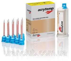 Acrytemp, (Акритемп) Самополимеризирующаяся композитна пластмаса (50мл.картридж +15 насадок).