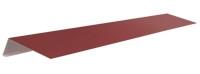 Капельник (2 п/м) под битумную черепицу Красный