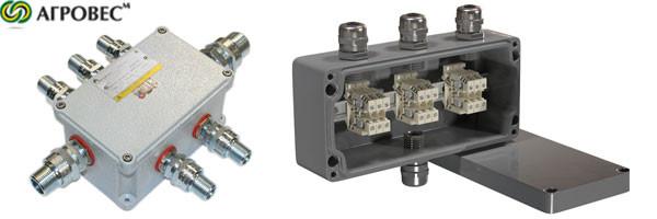 соединительные коробки для кабелей, разветвители, корпуса