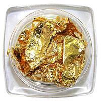 Фольга сжатая (золото)