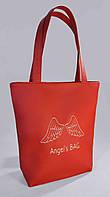 """Женская сумка """"Angels bag"""" Б303 - красная"""