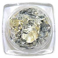 Фольга сжатая (серебро)