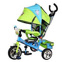 Детский трехколесный велосипед Лунтик Profi trike LT 0066-01 KK