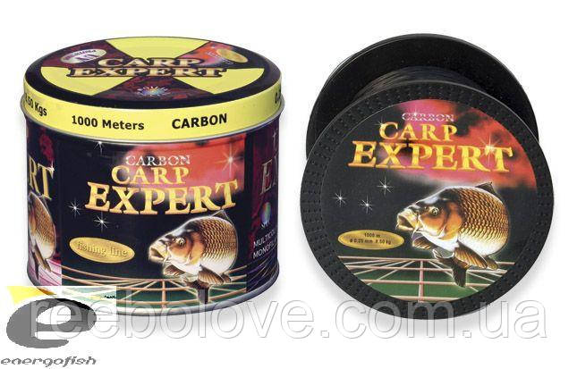 Леска CARP EXPERT  0,35mm 1000m сarbon