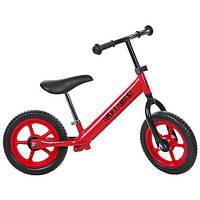 Беговел двухколесный PROFI KIDS, красный, колеса 12 дюймов