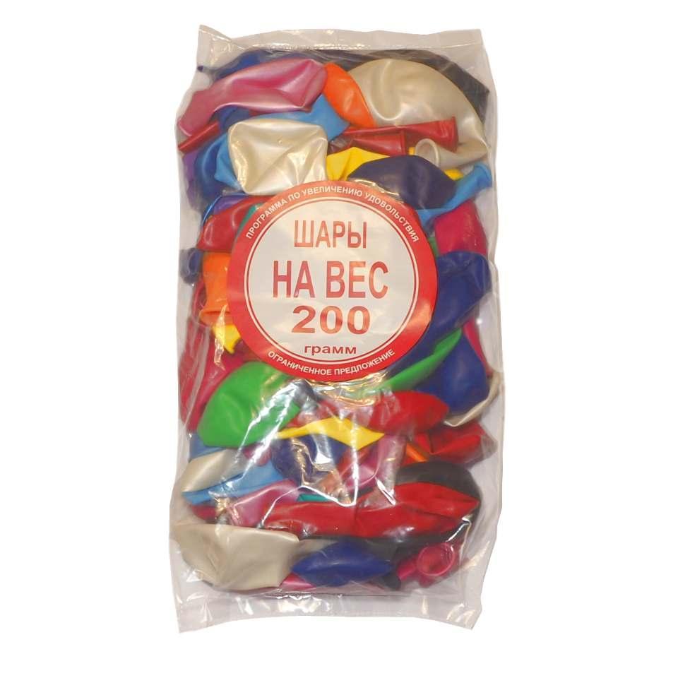 Воздушные шары Belbal ассорти микс 200 грамм