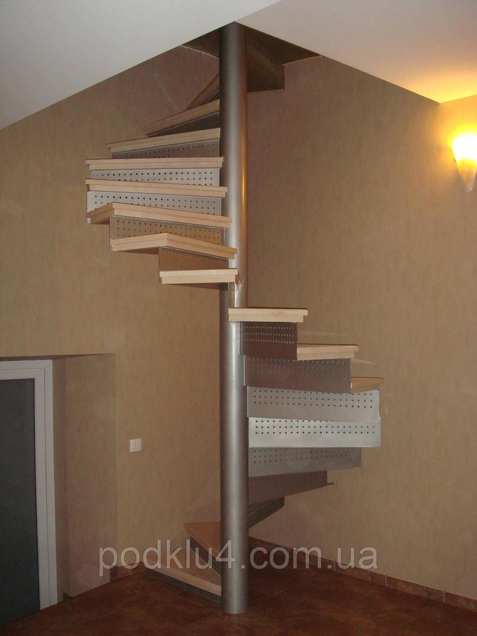 Винтовые лестницы под облицовку мрамором