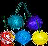 Димні кульки в упаковці 6 штук, колір: синій, фіолетовий, зелений, жовтий, білий