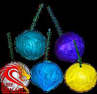 Дымные шарики в упаковке 6 штук, цвет: синий, фиолетовый, зеленый, желтый, белый