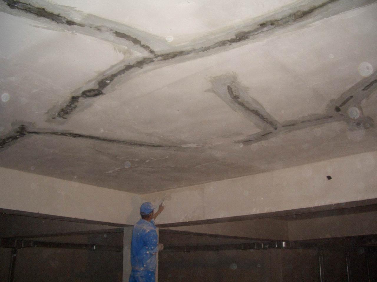 Торкрет-цемент - гидроизоляция швов и примыканий