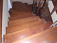 Каркасы лестниц сложной конструкции с последующей облицовкой, фото 1