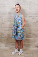 Платье джинсовое ( от 1,5 до 8 лет)