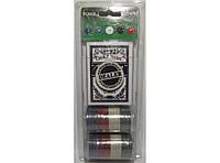 Набор для игры в покер (24 фишки+колода карт) I4-2, набор фишек для игры в покер
