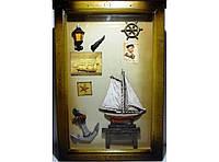 Ключница на 6 крючков KC055, ключница для дома, декоративная настенная ключница, шкафчик для ключей