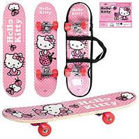Детский скейт HK 0052 Hello Kitty (60х15см) KK