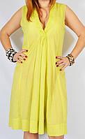 Пляжное салатовое платье, очень легкое, 46-48 р-ры