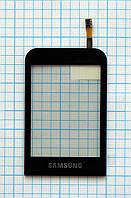 Тачскрин сенсорное стекло для Samsung GT-C3300 Champ black